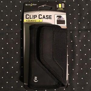 Black Clip Case